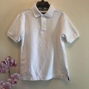 Class Club Boy's White Polo Shirts Size 6/7